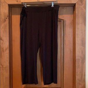 Maurices Black slinky dress pants -20W